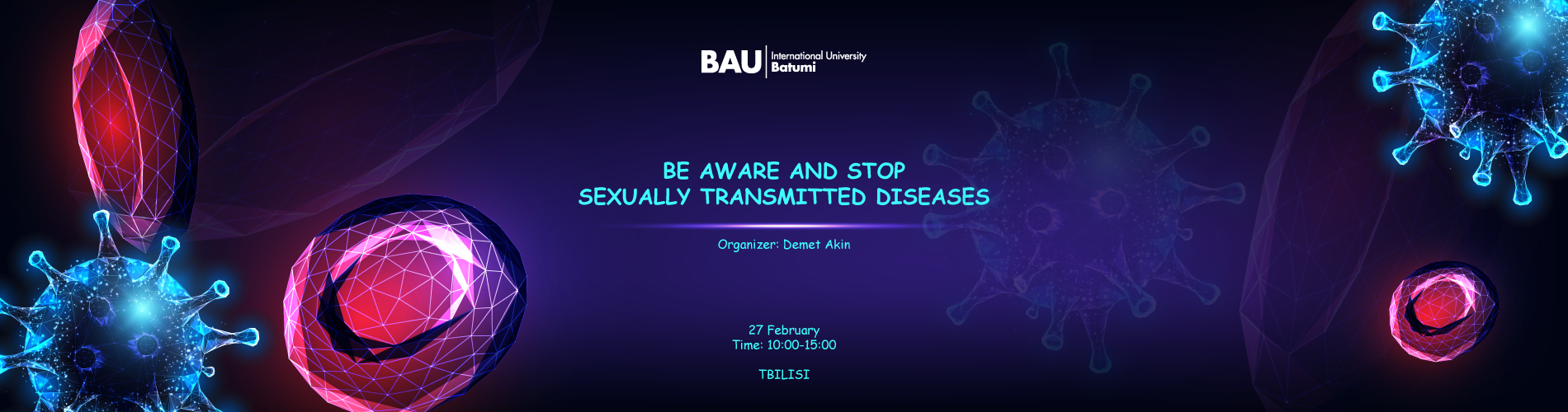 """სიმპოზიუმი  """"იცოდე და შეაჩერე სექსუალური გზით გადამდები დაავადებები"""