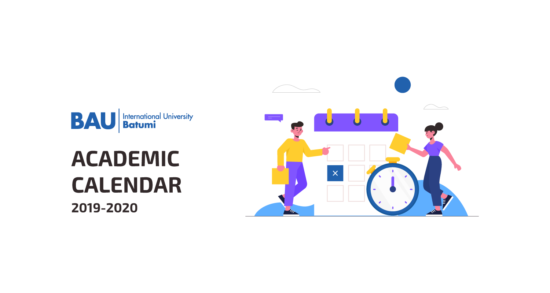 Академический календарь (2019-2020)